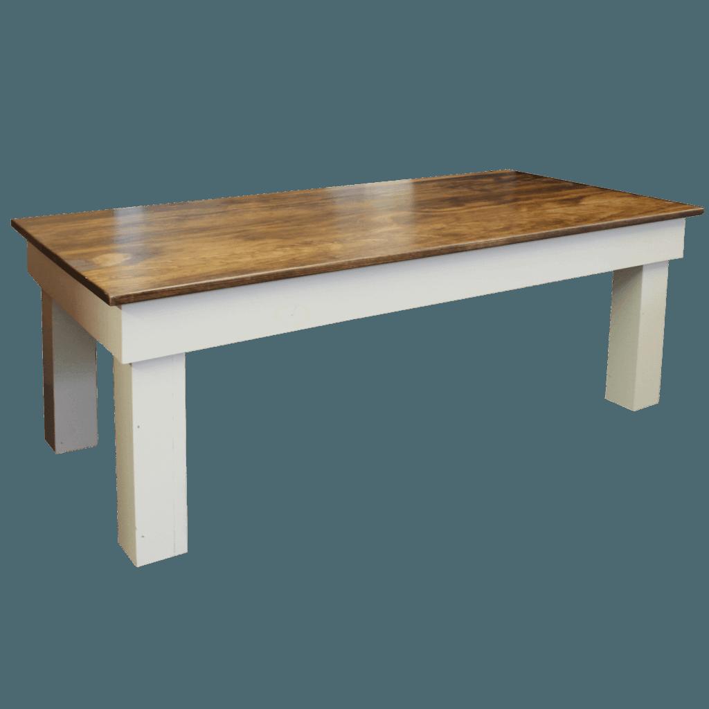 Post Leg Coffee Table