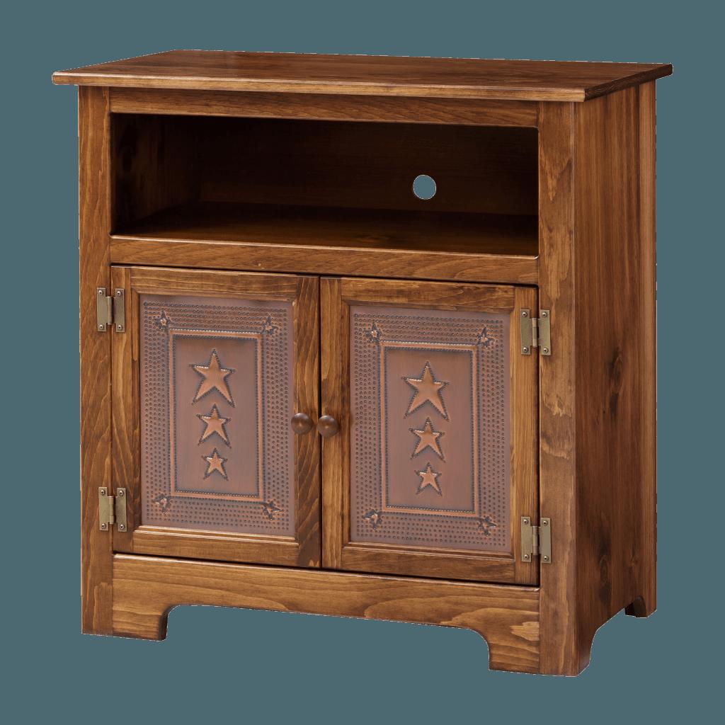 2-Door Plasma Cabinet w Tin