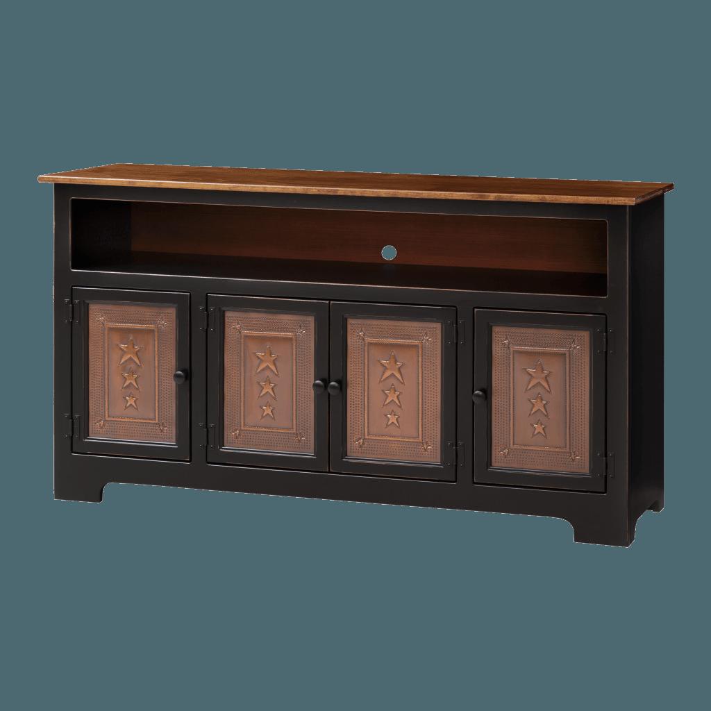4-Door Plasma Cabinet w Tin