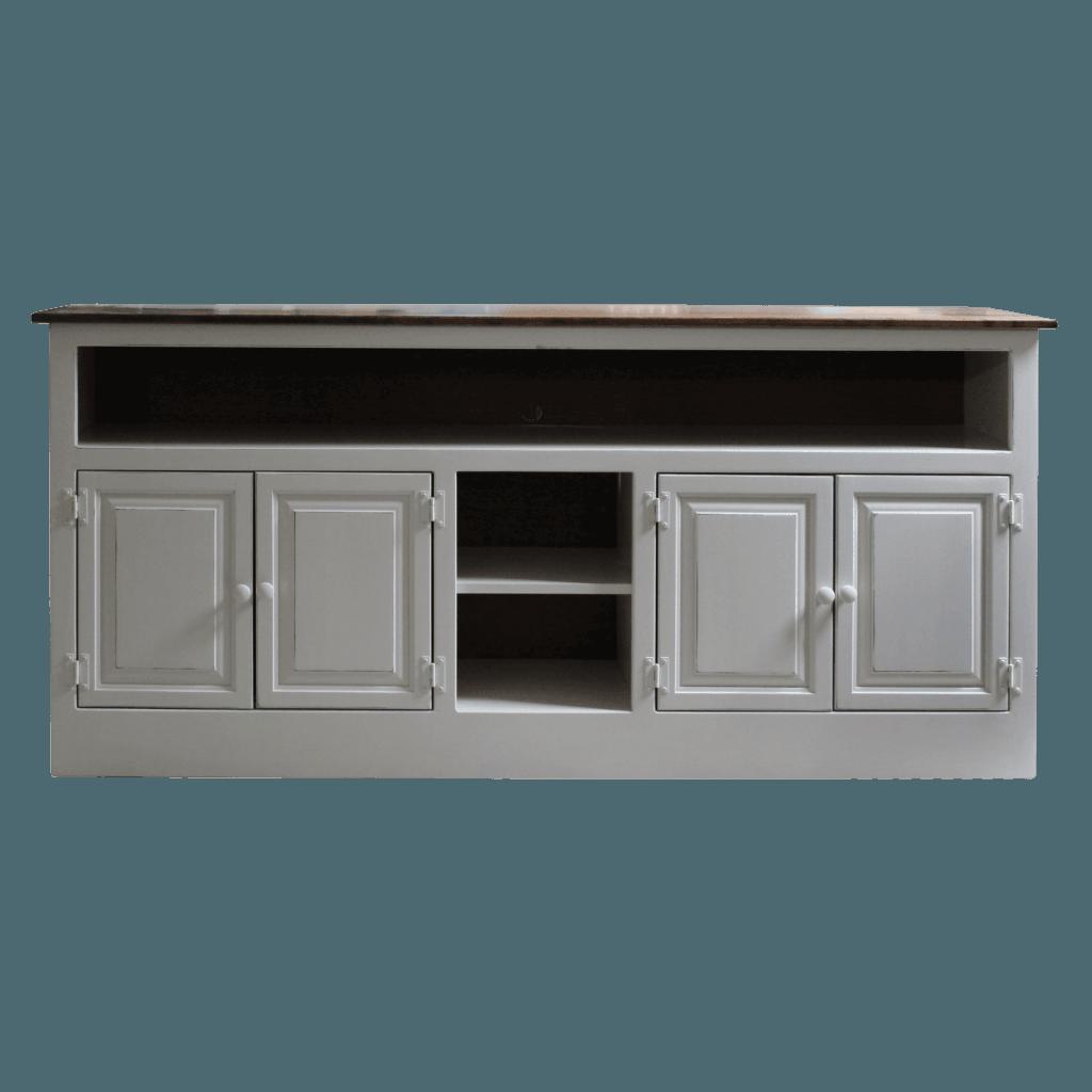 73in 4-Door TV Cabinet