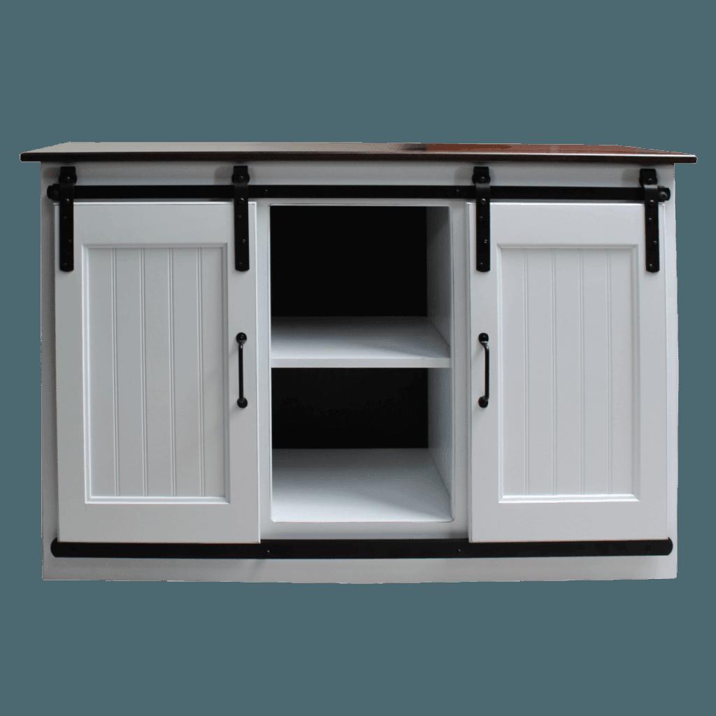 48in Barn Door TV Cabinet