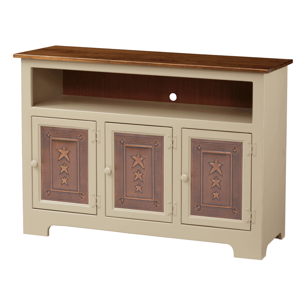 3-Door Plasma Cabinet w Tin