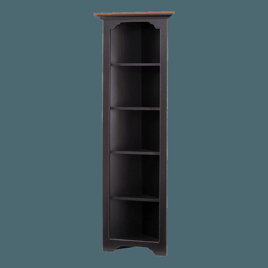 Small Corner Cabinet Open