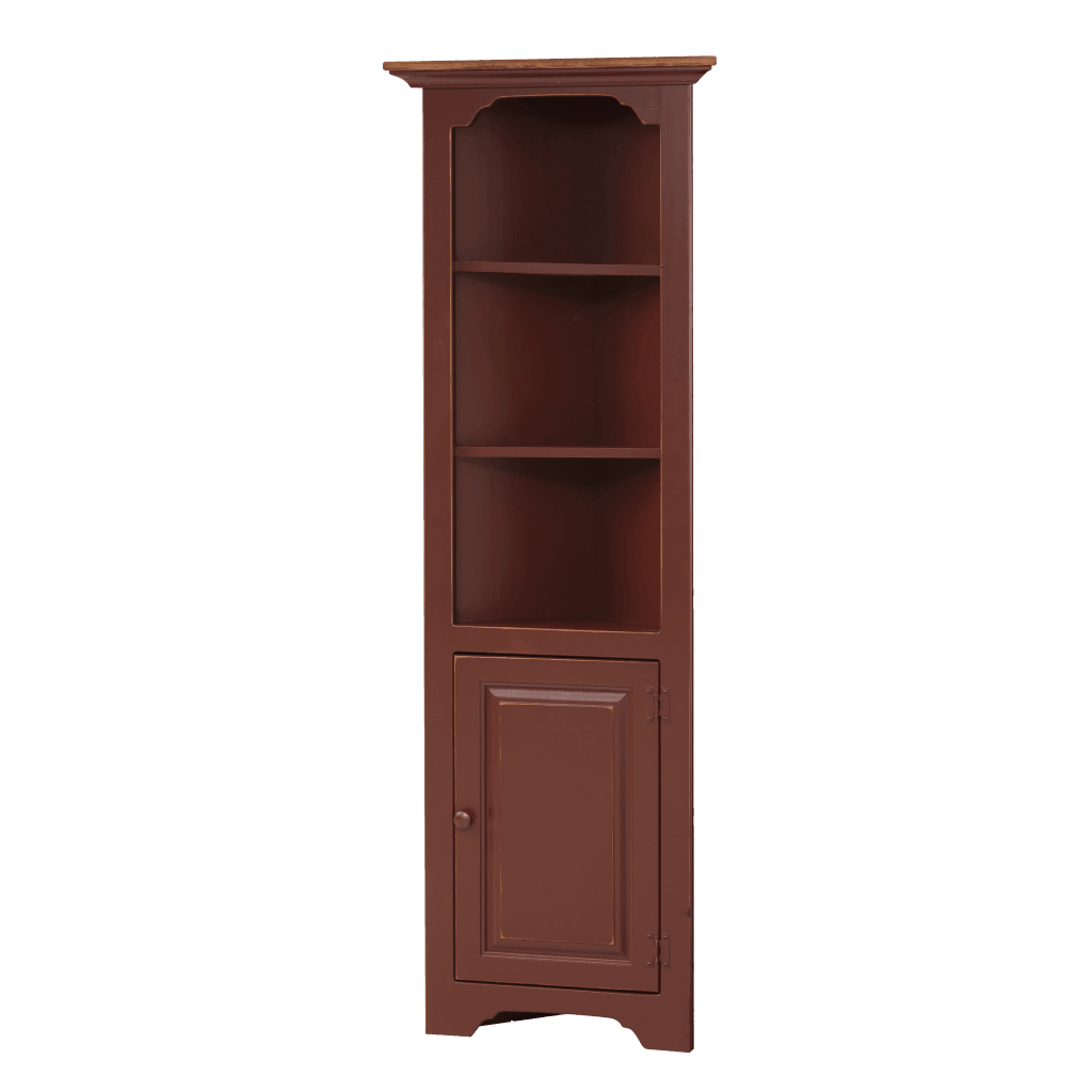 Small Corner Cabinet w/ Wood Door