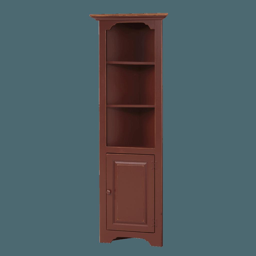 Small Corner Cabinet w/ Wood Door