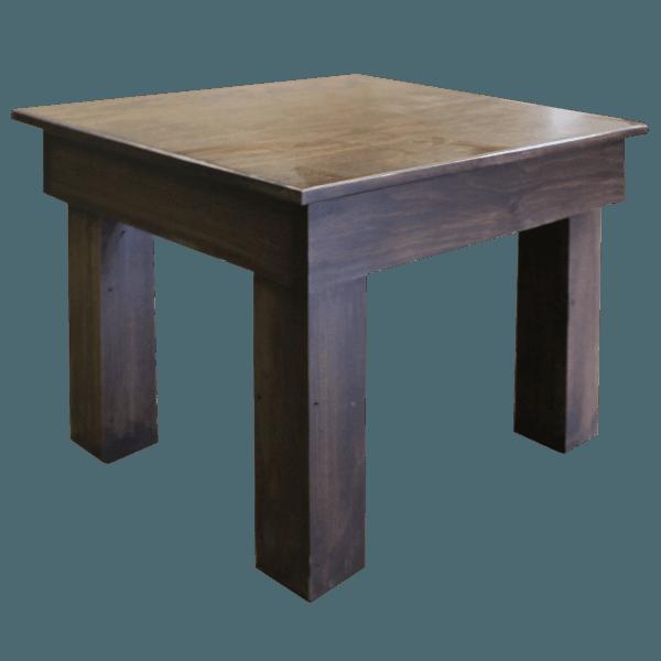 Post Leg End Table