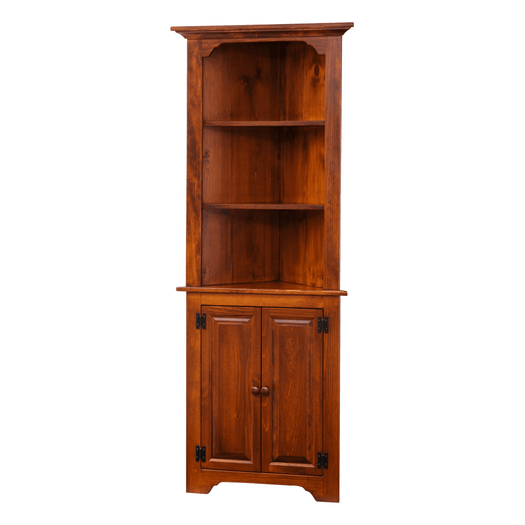 Medium Corner Cabinet Open