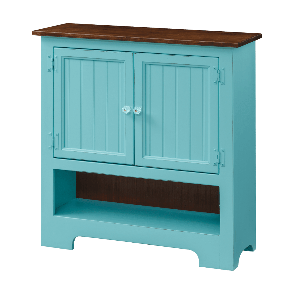 Double Hall Cabinet w Wood